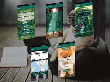 Dogs Parks App In Android