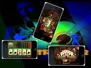 Video Poker Game For ios&Android