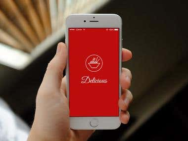 Delicious Mobile App Design