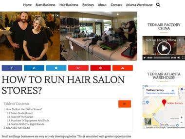 How to Run Hair Salon Stores?