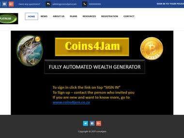 Coins site