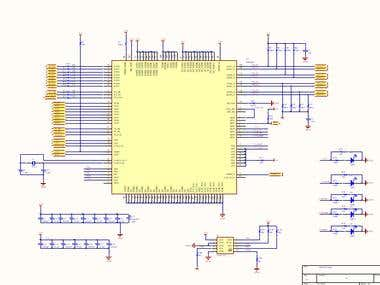 5-Layer PCB and Schematic Design of PoE Switch