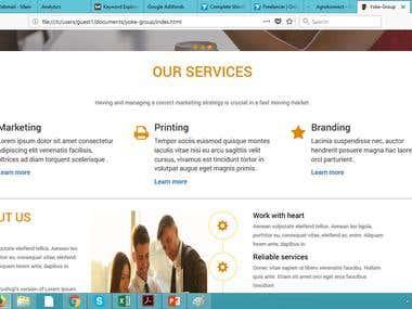 Yoke business site
