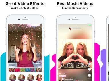 Video and voice chatting app