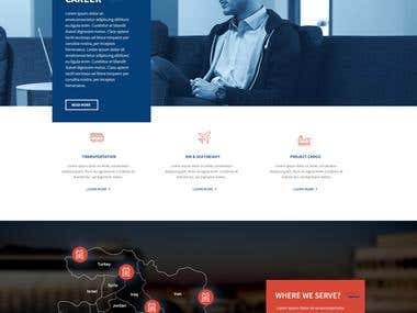 Alfares Transport - Website Design and Development