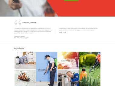 Hit Pest - Website Design and Development