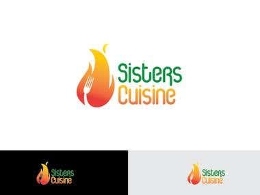 Sisters Cuisine - Logo Design