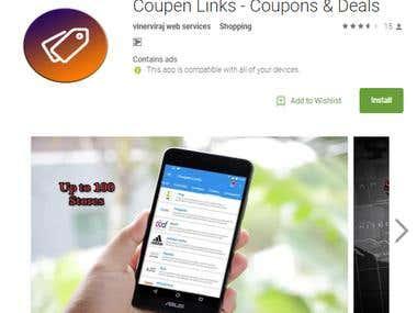 Coupen Links - Coupons & Deals