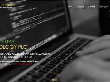 Ethio technology's company website