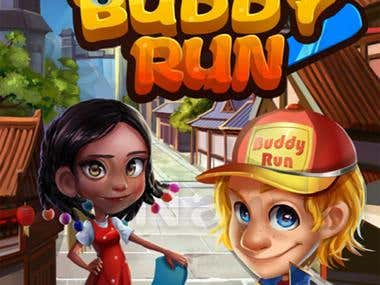 Buddy Run: Exciting 3D racing game