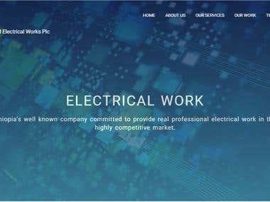 Engineering company website