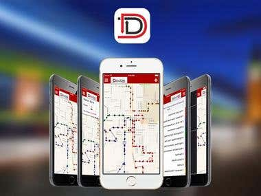 GPS bus tracking app