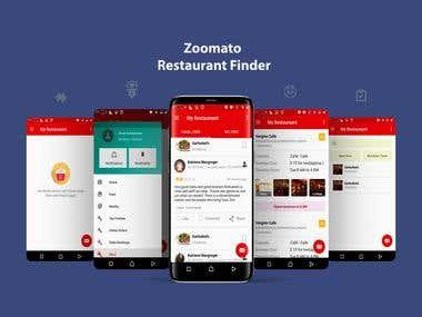 Zomato Application