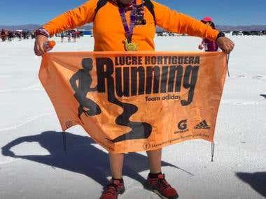 Logo Running