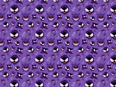 Gengar Evolutions patterns