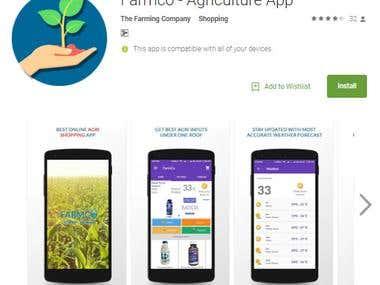 Farmco - Agriculture App