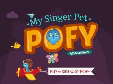 """Graphic Design of """"POFY"""" Android Game - KGSG Software"""