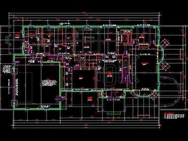 Floor plane in Autocad