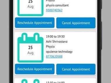 My Physiodesk App