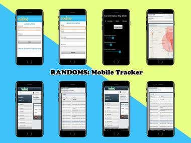 RANDOMS: Mobile Tracker