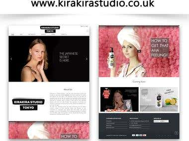 www.kirakirastudio.co.uk I Wordpress | Ecommerce