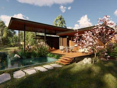 Modern Scandinavian House#2