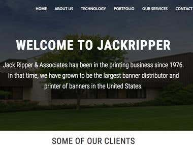 Jackripper for printing industry