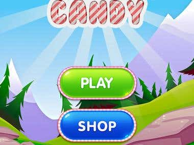 Jumping Candy game customization and bug fixing