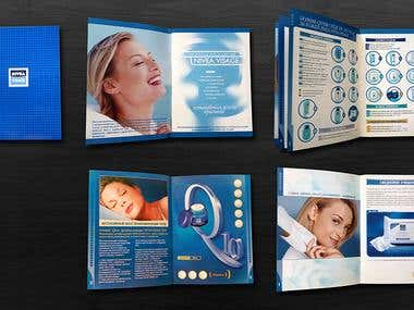NIVEA Brochure design