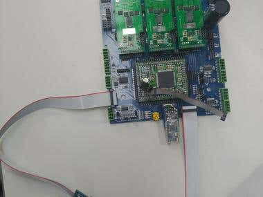 3 Axis wireless motor controller