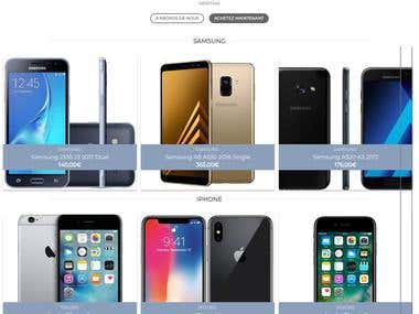 SamsungIphone | Ecommerce Website