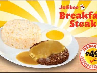 Jollibee Breakfast joy 15sec ad animation