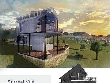 Surreal villa