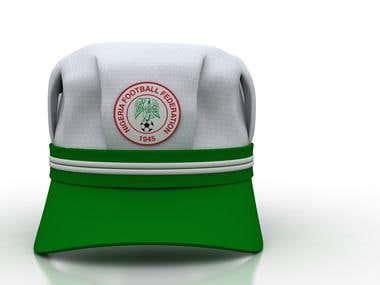 3d SPORTS HAT