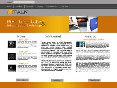 Website for ITtalk
