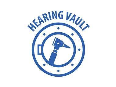 Hearing Vault Logo