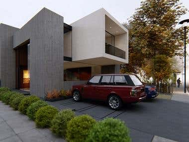 Contemporary Minimalist House