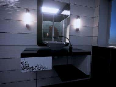 3D Bathrooms and Bathroom Cabinets