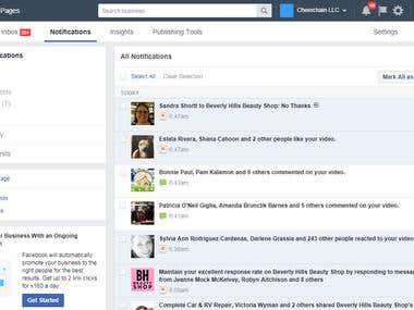 Facebook moderator task