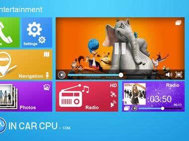 App Icon & UI designs