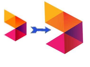 Graphic design works logo