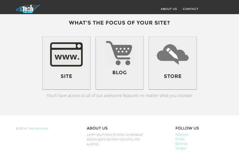 WEBSITE BUILDER: RESPONSIVE LAYOUT & AUTO CSS MAKER | Freelancer
