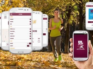 UL Sport | Run Keeper - Android App