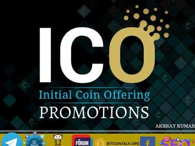 Promote & Advertise Your Initial Coin Offering (ICO) / Token