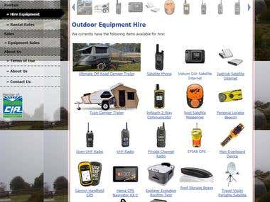 OZ Satellite Rentals - Online Outdoor Equipment Store