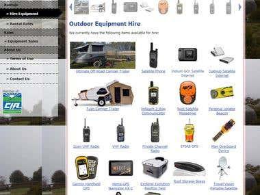 OZ Satellite Rentals - Online Outdoor Equipment Store