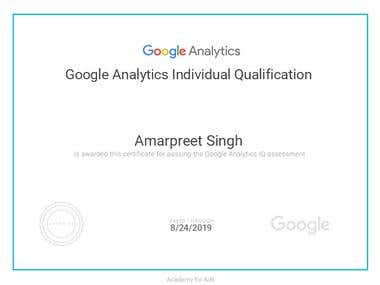 Google Analytics Individual Qualification - 2018