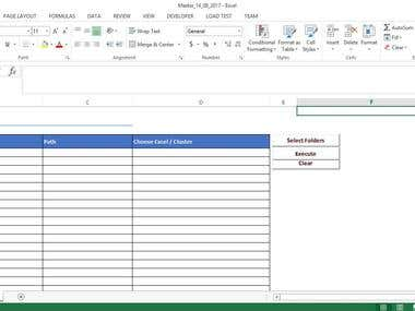 Multiple Excel Manipulation