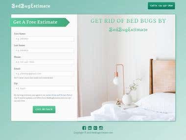 bed bug web page