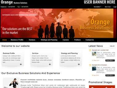 orangeCMS - CMS Website